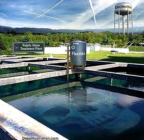 La Fluoración del agua nos convierte en estúpidos