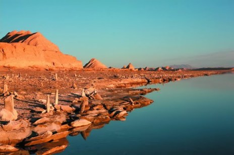 Artefactos extraños regados cerca del sitio - piramides de china