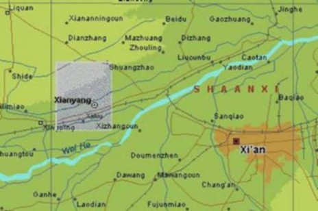 Llanos de Qin Chuan - Pirámide centro de China