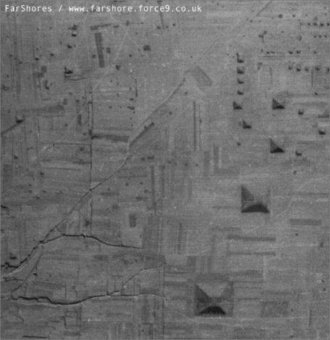 pirámides grandes y pequeñas pirámides china